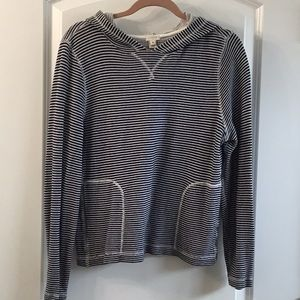 Jcrew terry cloth sweatshirt